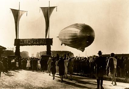 Pionierfahrten und Luftverkehr über den Atlantik