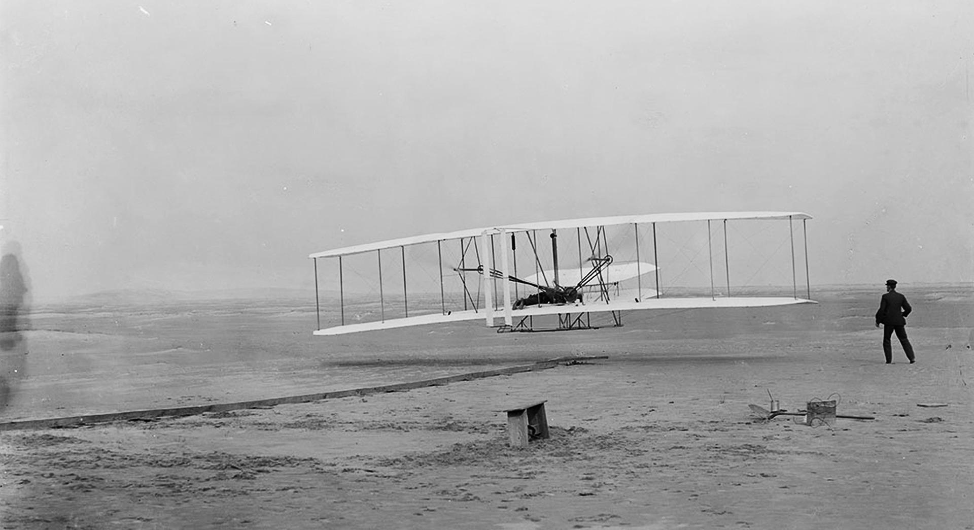 Haben die Gebrüder Wright wirklich das Flugzeug erfunden?