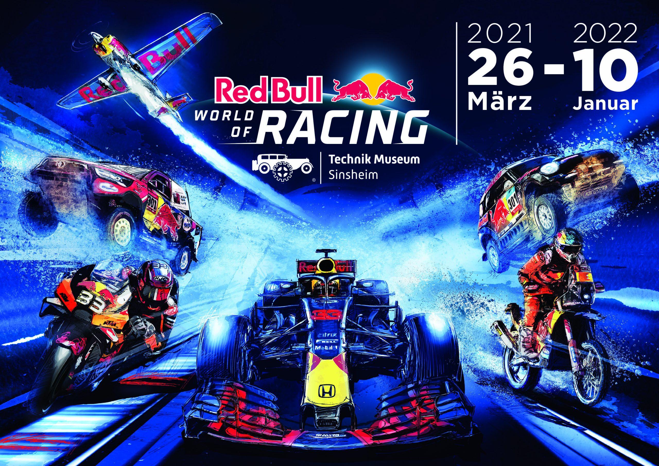 "Sonderausstellung ""Red Bull World of Racing"""