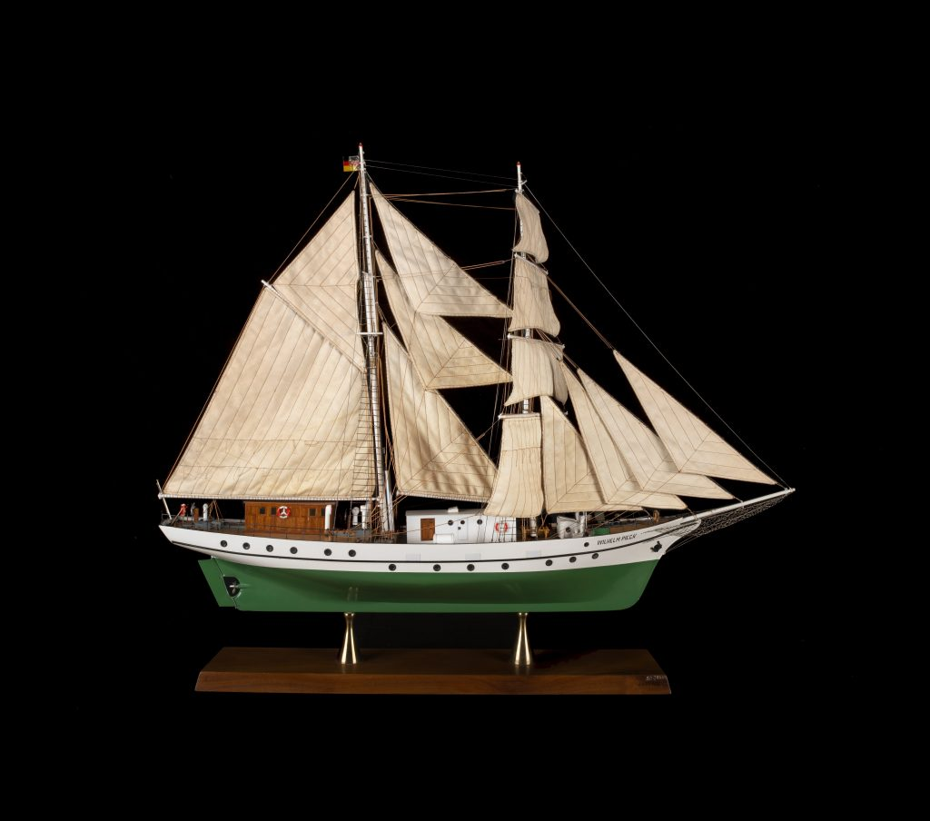 Segelschiff Wilhlem Pieck